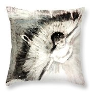 Dancer With A Bouquest Of Flowers By Edgard Degas Throw Pillow