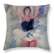 Dancers 132 Throw Pillow
