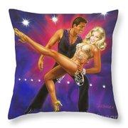 Dancer's Fantasy Throw Pillow