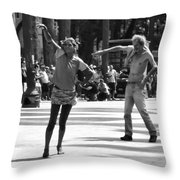 Dancers In Sao Paulo Throw Pillow