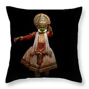 Dancers, India Throw Pillow