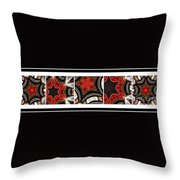 Dancing A Jig - Accordion - Pentaptych Throw Pillow