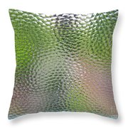 Dancing Colors Throw Pillow