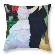 Dancing Couple  Throw Pillow