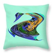 Dancing Goose Throw Pillow