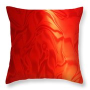 Dancing In The Fire Abstract Throw Pillow