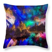 Dancing In The Moon Light Throw Pillow