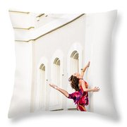 Dancing In The Streets Throw Pillow
