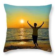 Dancing In The Sunlight Throw Pillow