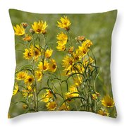 Dancing In The Wind Throw Pillow