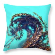 Dancing Kelp Throw Pillow