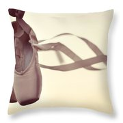 Dancing On The Wind Throw Pillow by Laura Fasulo