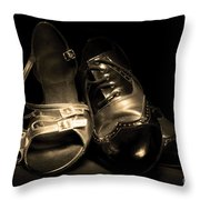Dancing Pair Throw Pillow