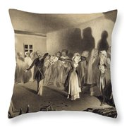 Dancing Party At Kagha-choura Throw Pillow
