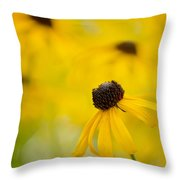 Dancing Susan Throw Pillow