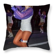Dancing The Night Away Throw Pillow