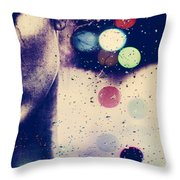 Dancing The Tears Gone Throw Pillow