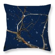 Dancing Through The Dusk Throw Pillow