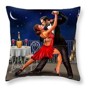 Dancing Under The Stars Throw Pillow