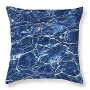 Dancing Water 5 Throw Pillow