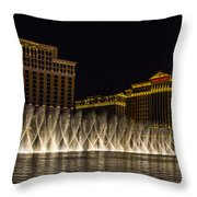 Dancing Waters 3 Throw Pillow