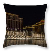 Dancing Waters 9 Throw Pillow
