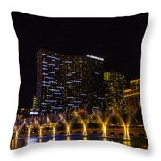 Dancing Waters Rear Shot Throw Pillow