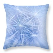 Dandelion Atmosphere Throw Pillow