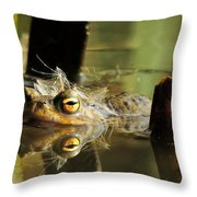 Dandelion Camouflage Throw Pillow