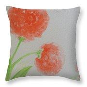Dandelion Garden  Throw Pillow