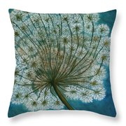 Dandelion Painting     Sold Throw Pillow