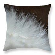 Dandelion Seed Head Macro I Throw Pillow