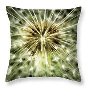 Dandelion Seeds Throw Pillow