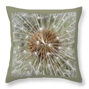 Dandelion Square Throw Pillow