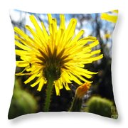 Dandy Day Too Throw Pillow