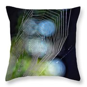 Dangerous Beauty Throw Pillow