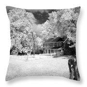 Daniel Boone Homestead Throw Pillow