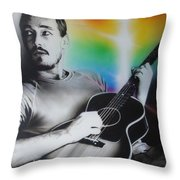 Daniel Johns Throw Pillow