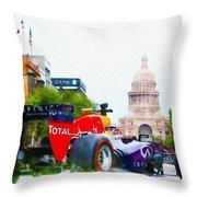 Daniel Ricciardo Of Australia Throw Pillow