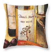 Danielle Marie 2004 Throw Pillow by Debbie DeWitt