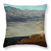 Dante's View Panorama Throw Pillow