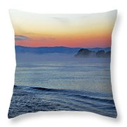 Danube Dawn Throw Pillow