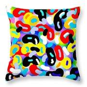 Danzas Africanas Throw Pillow
