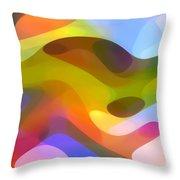 Dappled Light 5 Throw Pillow by Amy Vangsgard