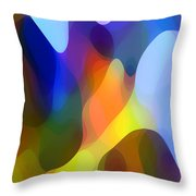Dappled Light Throw Pillow by Amy Vangsgard