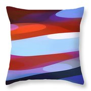 Dappled Light Panoramic 3 Throw Pillow