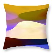 Dappled Light Panoramic 4 Throw Pillow