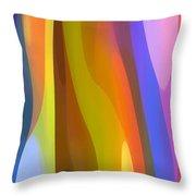 Dappled Light Panoramic Vertical 1 Throw Pillow