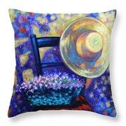 Dappled Suntrap  Throw Pillow by John  Nolan