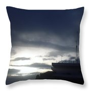 Dar Es Salaam Throw Pillow